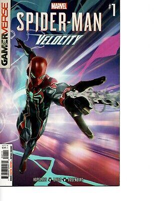 Gamerverse Spider-Man Velocity # 1 & 2, First Printings