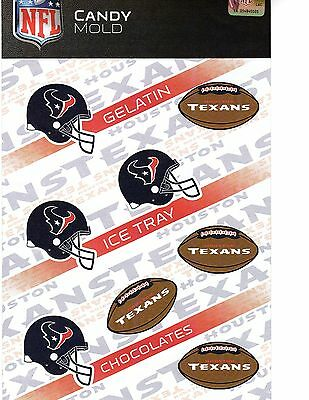 NFL Football Chocolate Candy Mold - Houston Texans (Houston Texans Candy)
