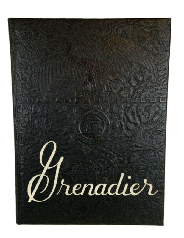 """Military College Of Georgia 1952 Yearbook Annual """"Grenadier"""""""