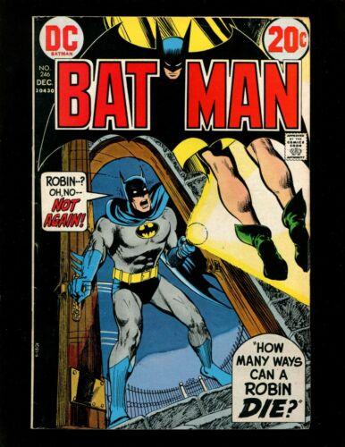 Batman #246 VF- Neal Adams Cockrum Novick Dillin Robin