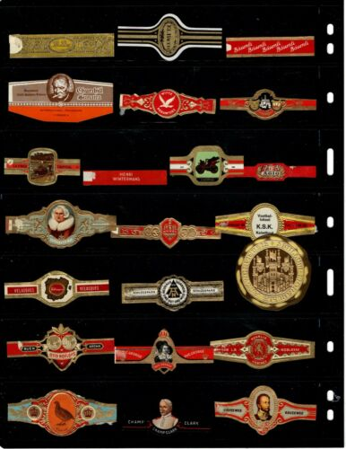 CIGAR BANDS..    .. ALL DIFFERENT ( OFFER (F876)*