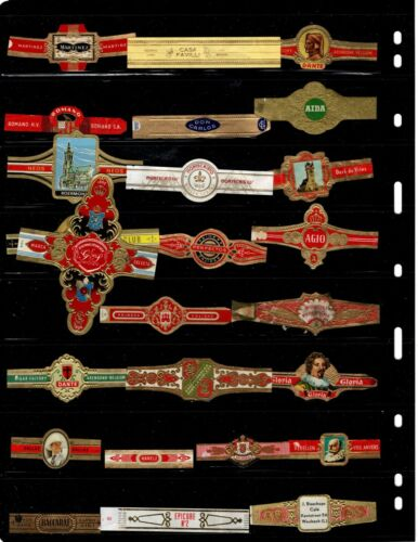 CIGAR BANDS..    .. ALL DIFFERENT ( OFFER (CD015)*