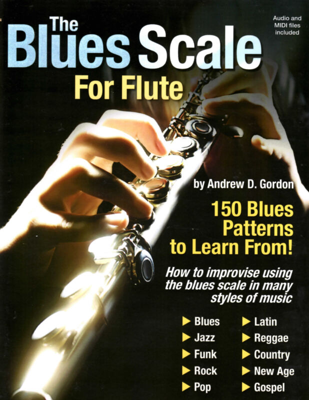 The Blues Scale For Flute Book/audio files