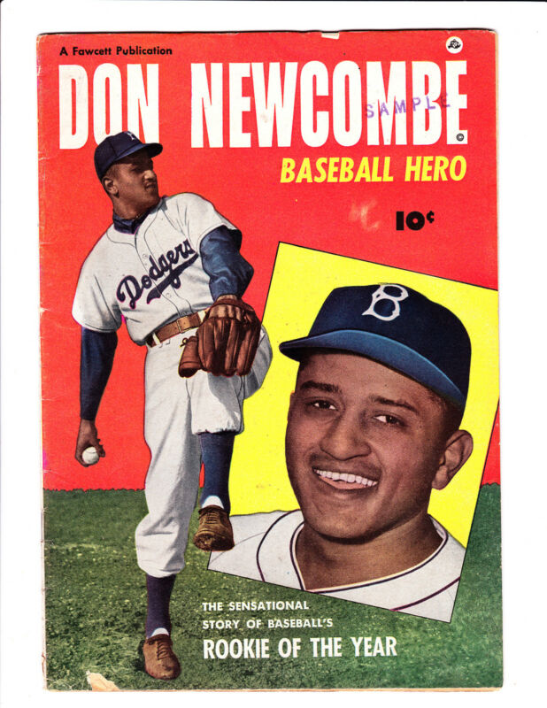 "Don  Newcombe, Baseball Hero      : 1951 :     : ""Rookie Of The Year"" :"