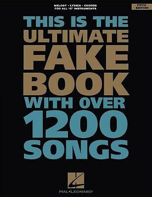 The Ultimate Fake Book: C -