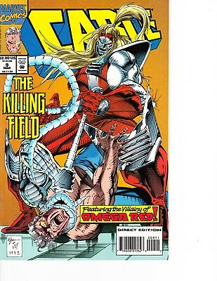 Cable Vs Deadpool (Cable #9 vs Omega Red! Deadpool movie FREE SHIPPING @ $30)