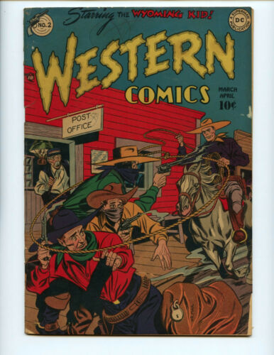 Western Comics 2 solid VG