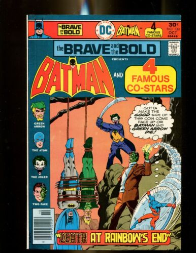 BRAVE AND THE BOLD 130 (9.0) JOKER COVER DC (b049)