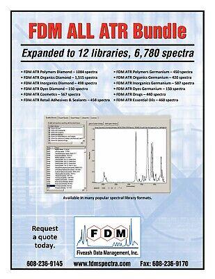 12 Atrftir Libraries Polymers Organics Drugs More Diamond Germanium