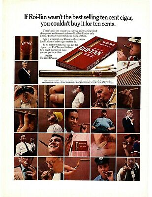 1960 If Roi-Tan Wasnt The Best Selling 10 Cent Cigar You Couldnt Buy It Print