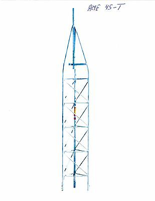 45G AMERICAN TOWER, ROHN TOWER STYLE-AME45, TOWER TOP, 9 foot, GENUINE OEM. Buy it now for 333.69
