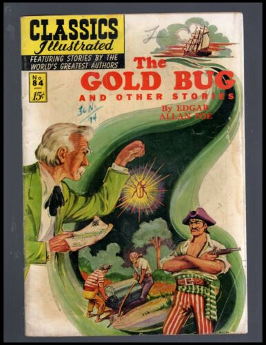 CLASSICS ILLUSTRATED #84 G (O) HRN85 (THE GOLD BUG)