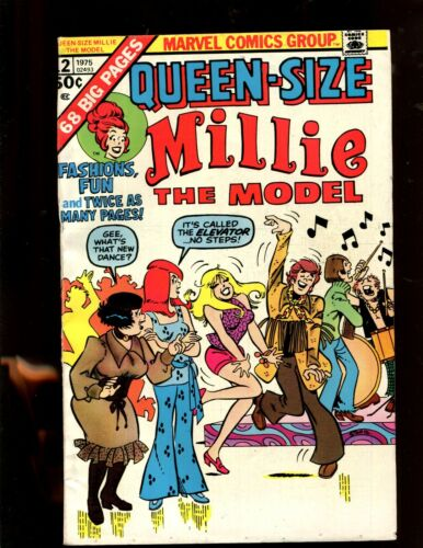 QUEEN-SIZE MILLIE THE MODEL #12 (7.0) HARD TO FIND!