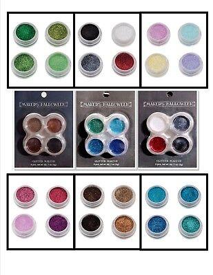 MAKER'S HALLOWEEN Metallic Glitter Makeup Set - CHOOSE ONE!
