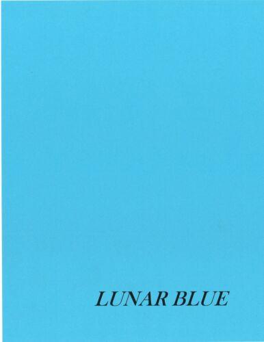 100 Sheets - Astrobright Paper - 60# Lunar Blue  - 8.5 x 11