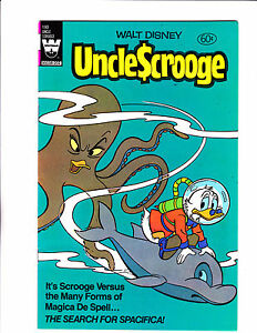Uncle-Scrooge-No-193-1981-Octopus-Dolphin-Cover