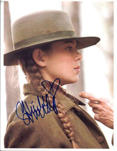 Hailee Steinfeld Signed Autographed 8x10 Photo True Grit COA VD