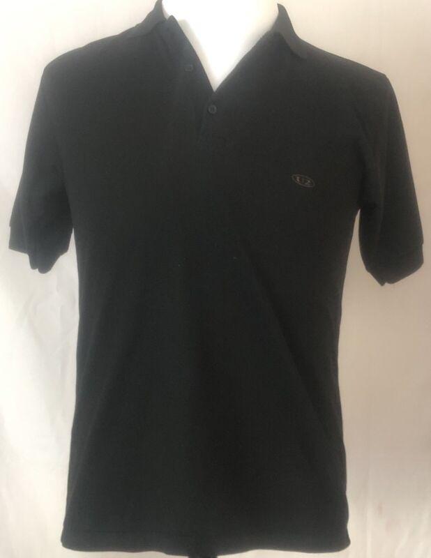 U2 1987 Joshua Tree Tour Crew Polo Shirt Black