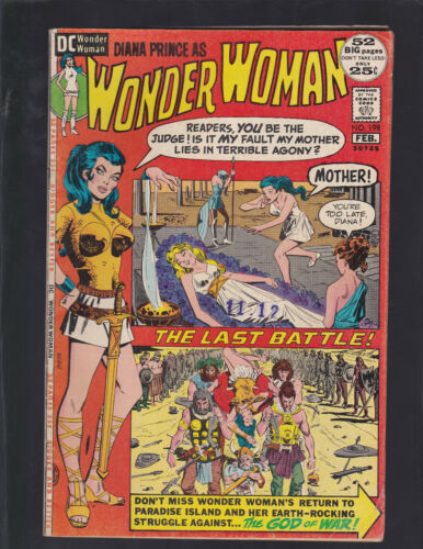Wonder Woman #198 Return to Paradise Island! 52 Page Issue!