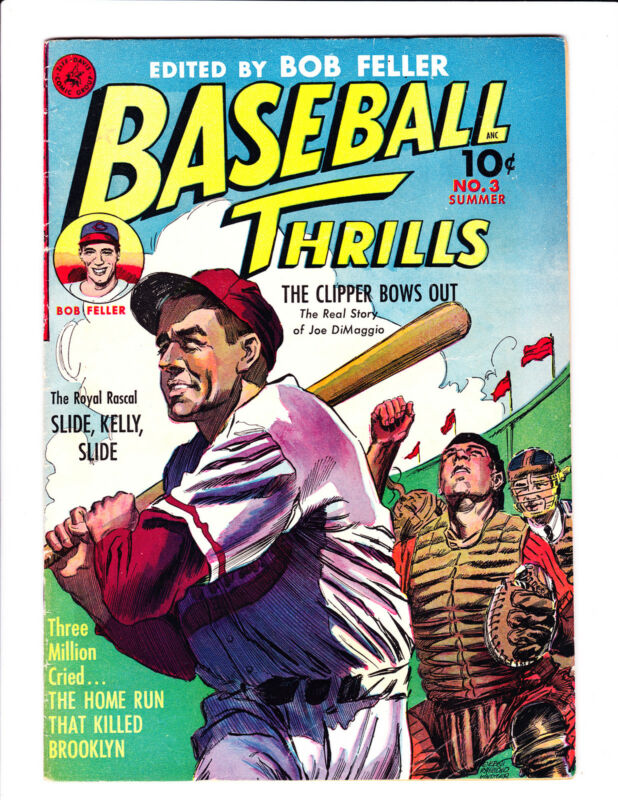 Baseball Thrills   No.3     : 1952 :     : Joe DiMaggio Story! :