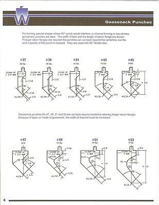 Press Brake Tooling Die 90 Degree Gooseneck Punch 41 36 Inch Long