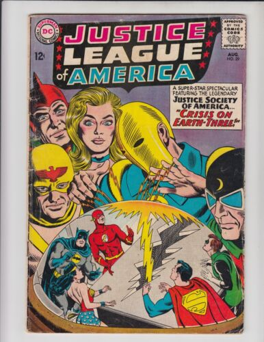 JUSTICE LEAGUE OF AMERICA #29 GD/VG