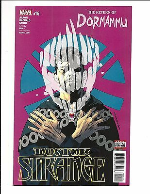DOCTOR STRANGE # 16 (MAR 2017), NM NEW (Bagged & Boarded)