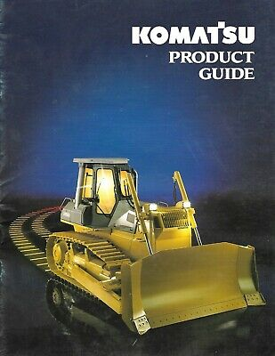Brochure - Komatsu - Construction Equipment Product Line Guide - C1993 E6559