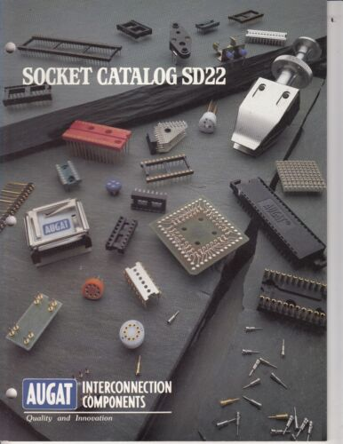 AUGAT  SOCKET 1984 CATALOG - RARE -  38 PAGES !   /C2