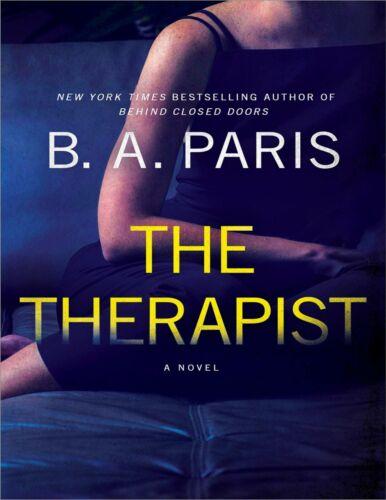 The Therapist: A Novel by B. A. Paris