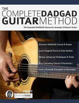guitar complete method dadgad acoustic electric