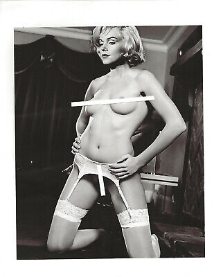 MARILYN MONROE (M 212) GREAT PIC, totally nude frontal  8.5X11