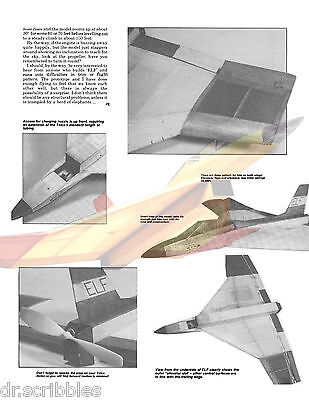 2 piece Vtg Telco CO2 Model Airplane prop propeller Props for CO2 new old stock