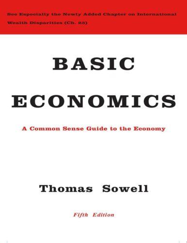 Basic Economics 5th Edition by Thomas Sowell (E-B0OK&AUDI0B00K||E-MAILED)