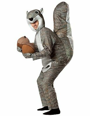 Adult Squirrel Costume - Rasta Imposta Squirrel Costume