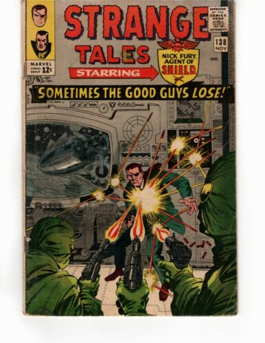 Strange Tales #138 - Sometimes the Good Guys Lose!