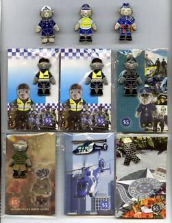 Victoria Police Lapel Badges (9)