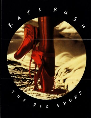 VINTAGE ORIGINAL Promo Publicity Kate Bush The Red Shoes Color 1993