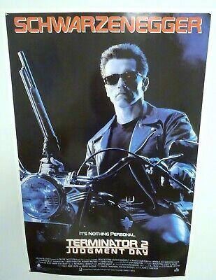 Terminator 2 Judgement Day original 27x40 Movie Video Poster Rolled Mint 1991
