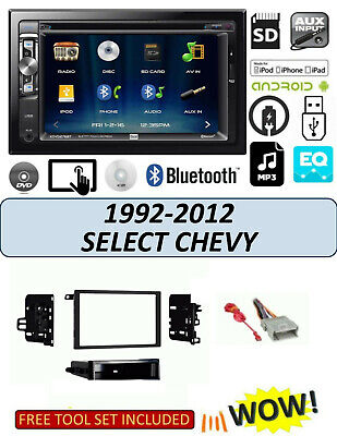 Usado, 1992-2012 CHEVROLET IMPALA MALIBU S10 BLUETOOTH TOUCHSCREEN DVD CAR STEREO COMBO comprar usado  Enviando para Brazil