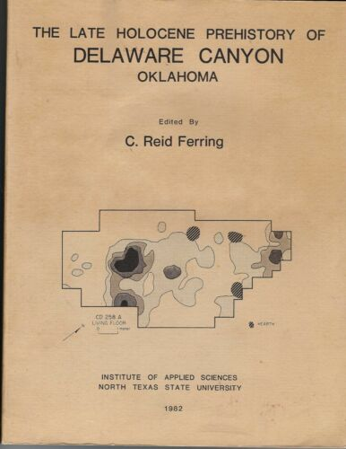 Delaware Canyon Oklahoma archaeology history book 1982 Caddo County Indians