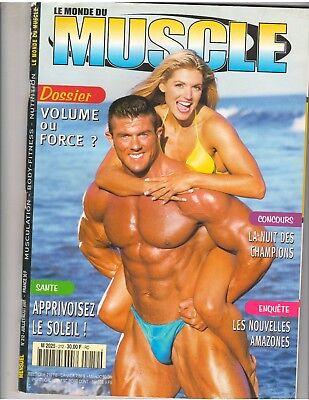 Le Monde Du Muscle  212 Bodybuilding Magazine Justin Brooks Kim Lyons 8 01  Fr