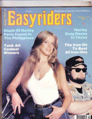 EASYRIDERS MAGAZINE-------SEPTEMBER 1979---DAVID MANN
