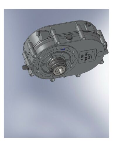 """⭐ GEARBOX PTO SAE""""BB""""15T OUT 5:1 RATION 1 3/8-6 FEMALE SHAFT 12330000"""