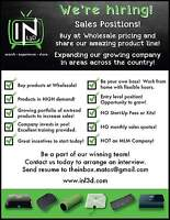 Now hiring INL3D sales reps