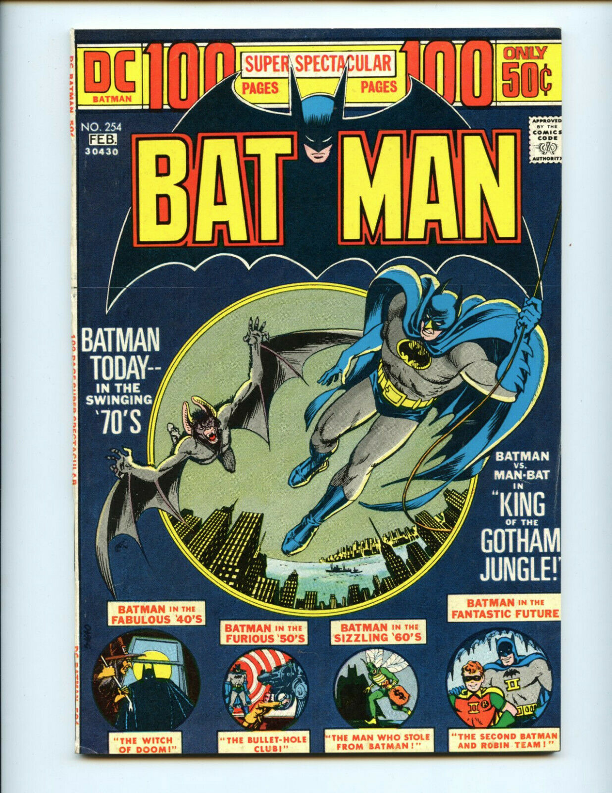 Batman 254 100-pager nice copy