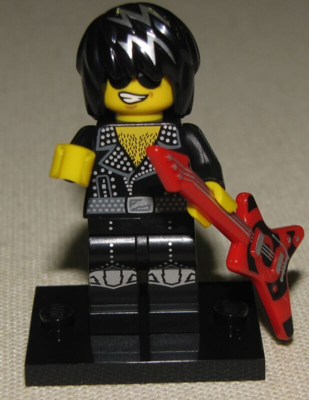 LEGO NEW SERIES 12 MINIFIGURES 71007 YOU PICK MINIFIGS UNUSED ONLINE GAME CODE  Rock Star Rocker