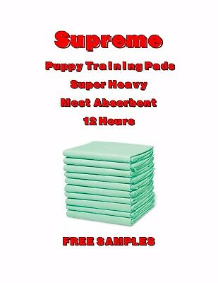 Supreme SUPER Absorbent Puppy Training Pad-Best Damn Pads in the Market