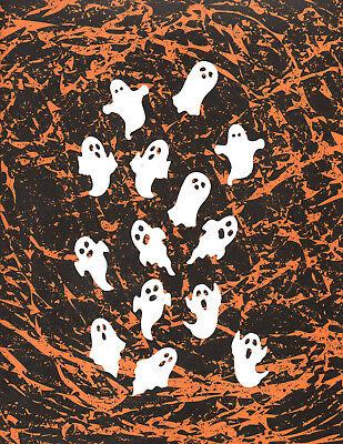 Quicktutz Cottage Cutz Halloween Spooky Halloween Ghosts Die Cut - Spooky Silhouettes Halloween
