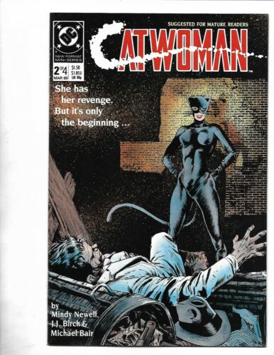 Catwoman #2, 1988, 9.4, NM, 2nd CatWoman ever, Limited 4 part Series, Copper Age